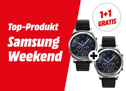 Media Markt: (1+1 Gratis) Samsung Gear S3 Classic Smartwatch für 379€