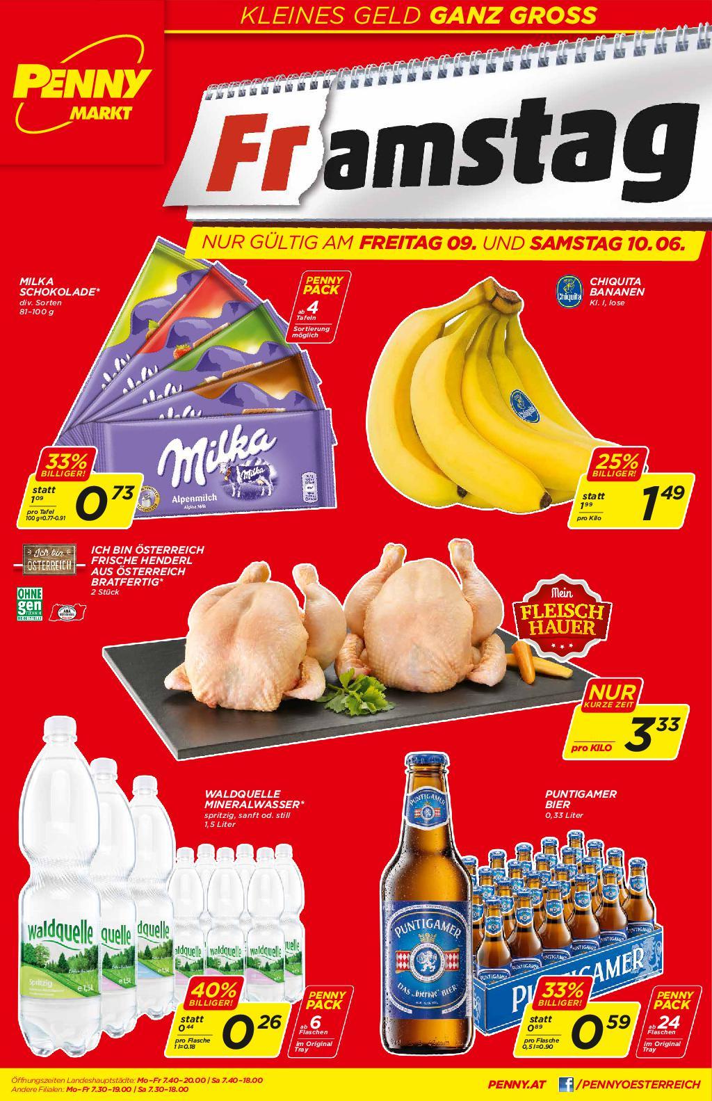 [Penny] MILKA Alpenmilch für 0,73 € pro Tafel ab 4 Stück