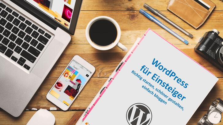 """eBook """"WordPress für Anfänger"""" gratis"""