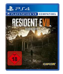 [www.AMAZON.de] Resident Evil 7 Biohazard - [PlayStation 4]  für € 30,30 VGL bei € 50,--