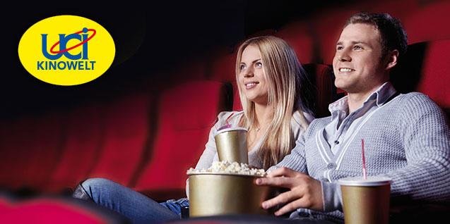 DailyDeal: 5 UCI Kino-Tickets um 32 € - bis zu 50% sparen