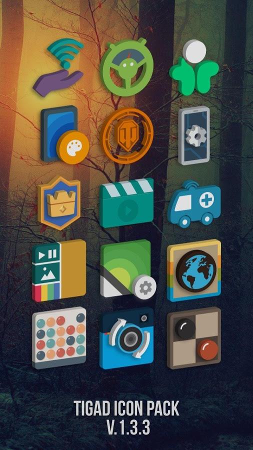 [Android] Tigad Pro Icon Pack kostenlos statt 1,29€