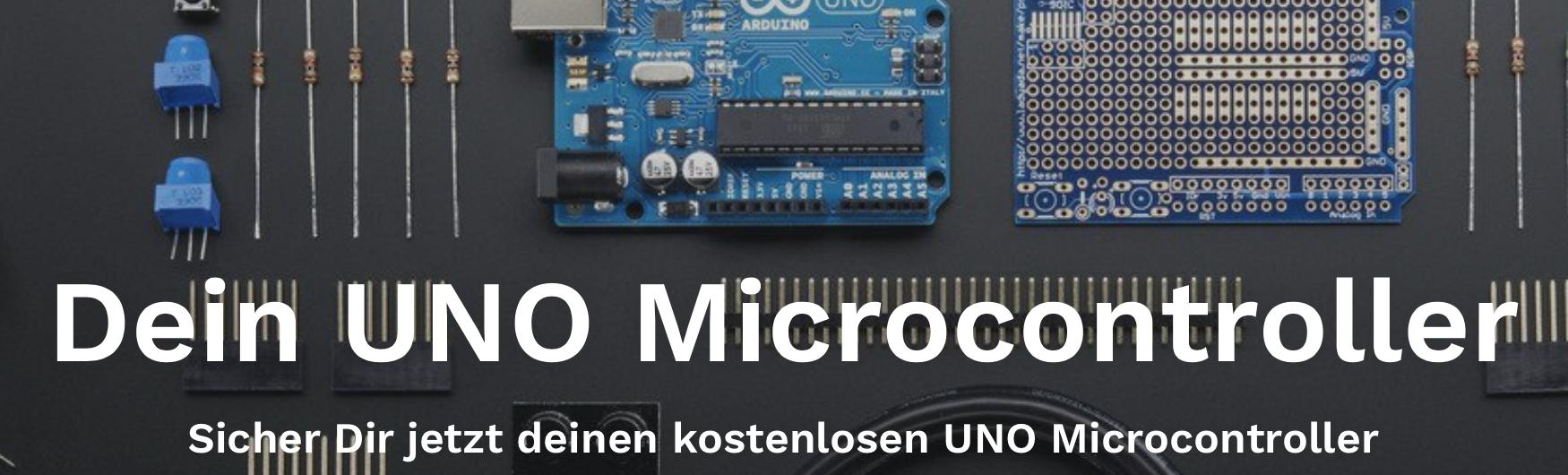 Gratis Arduino UNO + 6,90€Versandkosten