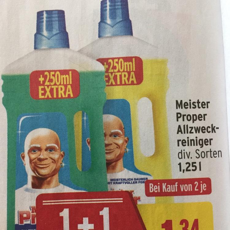 Meister proper allzweckreiniger 1,25l