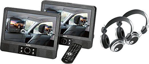 PRIME DEALS: AEG DVD 4552 LCD Tragbarer DVD-Player (22,86 cm (9 Zoll) Display, DVD+RW, SD-Kartenslot) schwarz