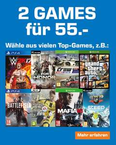 Saturn: 2 Games für 55€ - u.a. mit: Prey, Battlefield 1