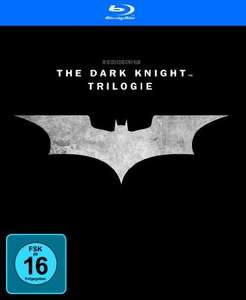 Amazon Prime: Batman - The Dark Knight Trilogy (Blu-Ray) für 12,97€