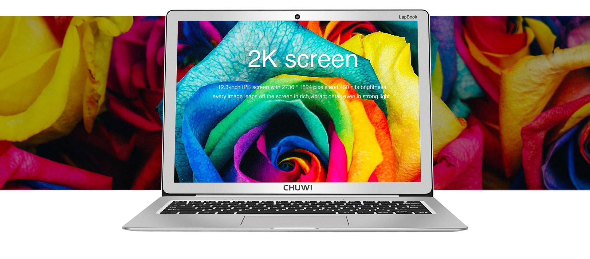 Chuwi 12.3 Lapbook um 251 € statt 360,40 € @gearbest