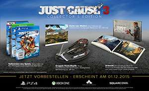 Just Cause 3 - Collector's Edition für 29,95€ PS4 & Xbox One !