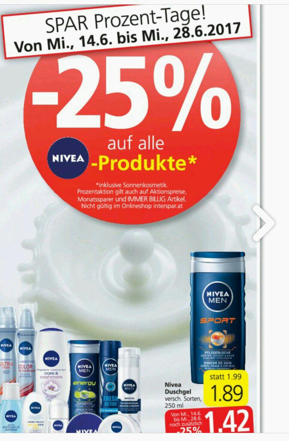 Nivea -25 Prozent