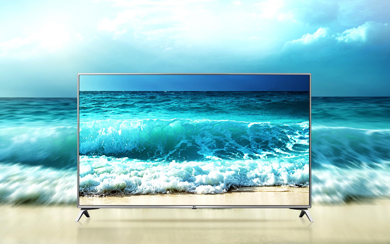 [www.AMAZON.de] LG Electronics 55UJ6519 Fernseher + Gratis LG SJ6 Soundbar  für € 908,18 ~25% Ersparnis zum nächsten Geizhalspreis