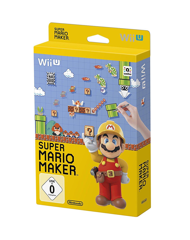 [www.AMAZON.de]  Super Mario Maker - Artbook Edition - [Wii U] für € 20,62 Gratis Versand für Prime Kunden ~40% Ersparnis zum nächsten Geizhalspreis