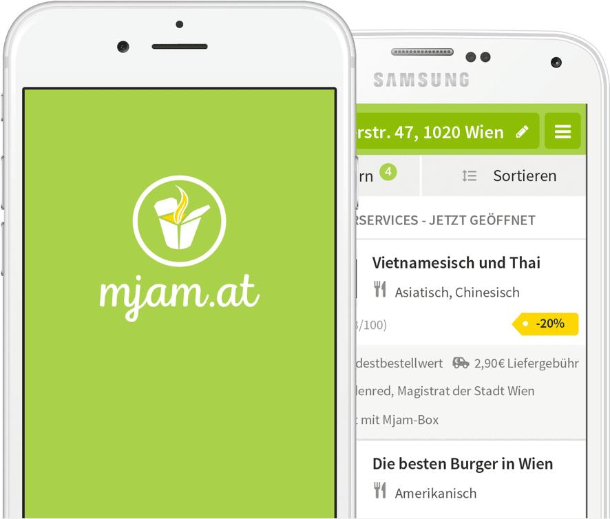 Mjam - 5€ Rabatt bei erstmaliger Bestellung mit der App. Auch für Bestandskunden.