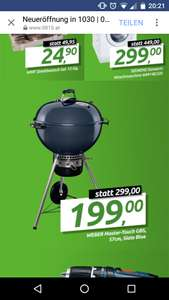 [0815.at] Weber Master-Touch GBS, 57 cm, Slate Blue