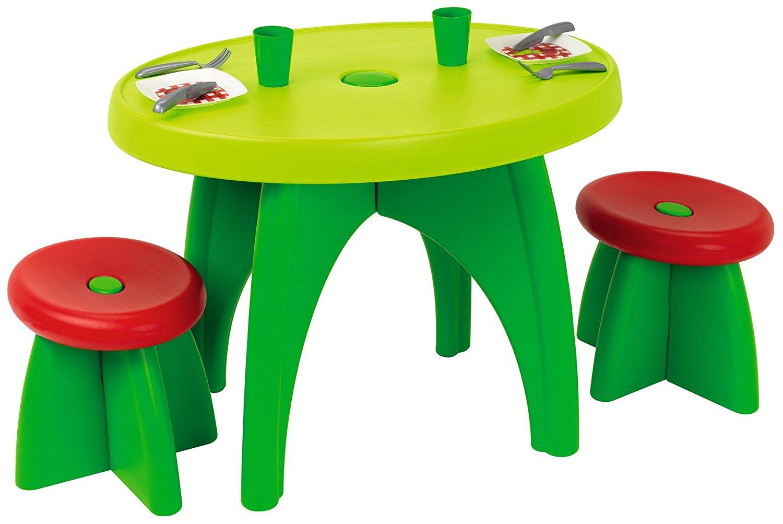 [www.AMAZON.de]   Ecoiffier 583 - Kinder Gartentisch Garnitur  für nur € 20,16 für Prime Kunden Kostonloser Versand
