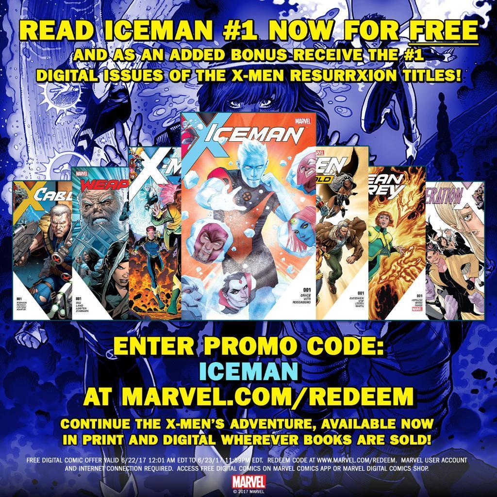 Marvel: 7 Digital Comics komplett kostenlos!