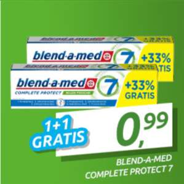 GRATIS - 2x Blend•a•med Zahncreme Dank Cashback