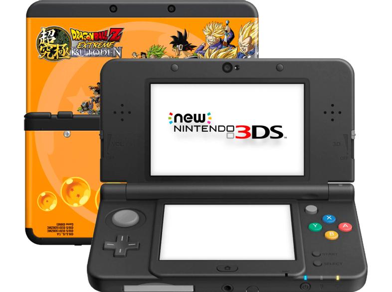 [Mediamarkt.at] NINTENDO New Nintendo 3DS schwarz inkl. Dragon Ball Z: Extreme Butoden + Zierblende für 145€