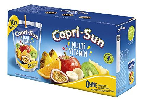 [Amazon.de]  Capri Sun verschiedene Geschmacksrichtungen- Wochenangebot 40x 200ml um 8,10 -  >über 50% sparen zum lokalen Supermarkt