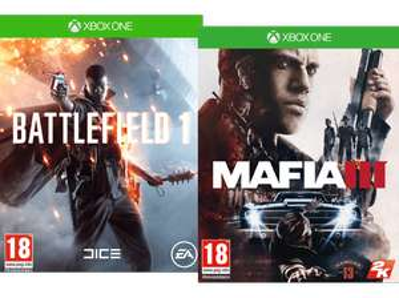 Saturn: Battlefield 1 + MAFIA III (Xbox One) für 35€