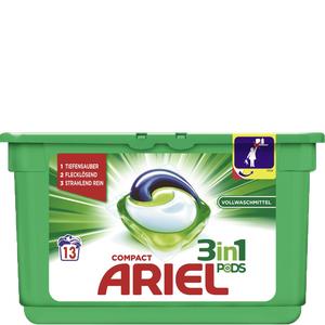 2 x 13 WG Ariel Pods um 1,52.- ( Bipa -25% auf Waschmittel + Guru )