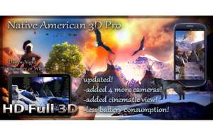 [Android] Native American 3D Pro, Africa 3D Pro & Tropical Ocean 3D Live Wallpaper für 0 statt je 1,19€
