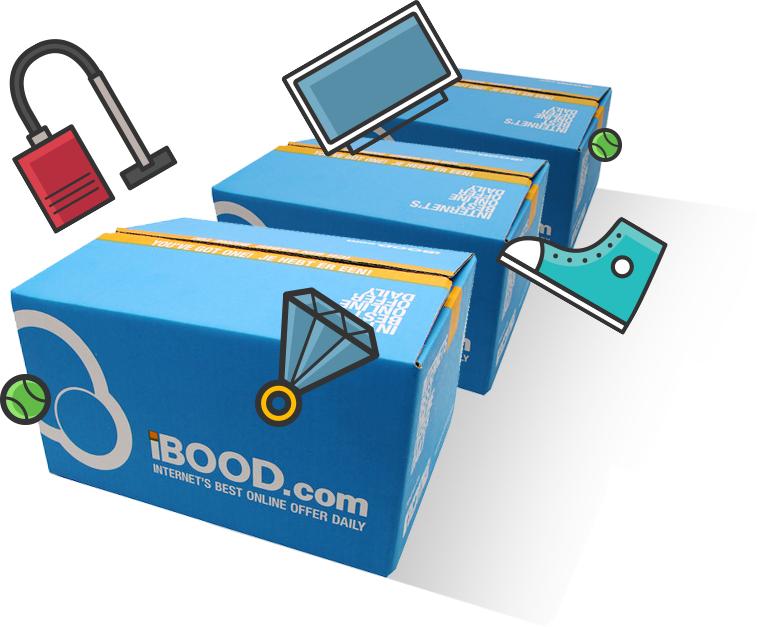 iBood Hunt - Ständig wechselnde Angebote am 4. und 5. Juli
