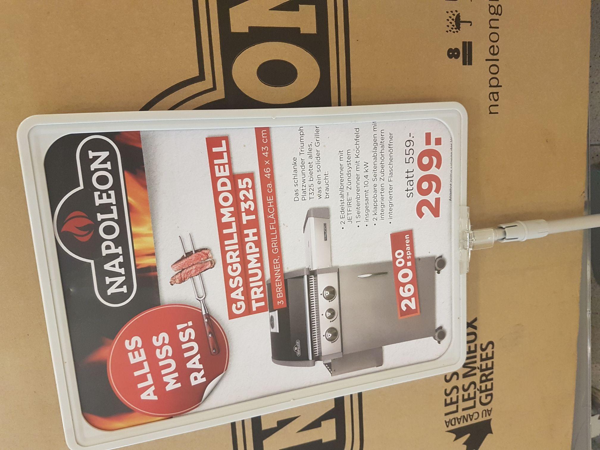 Napoleon Grill T325 für 299€ statt 550€