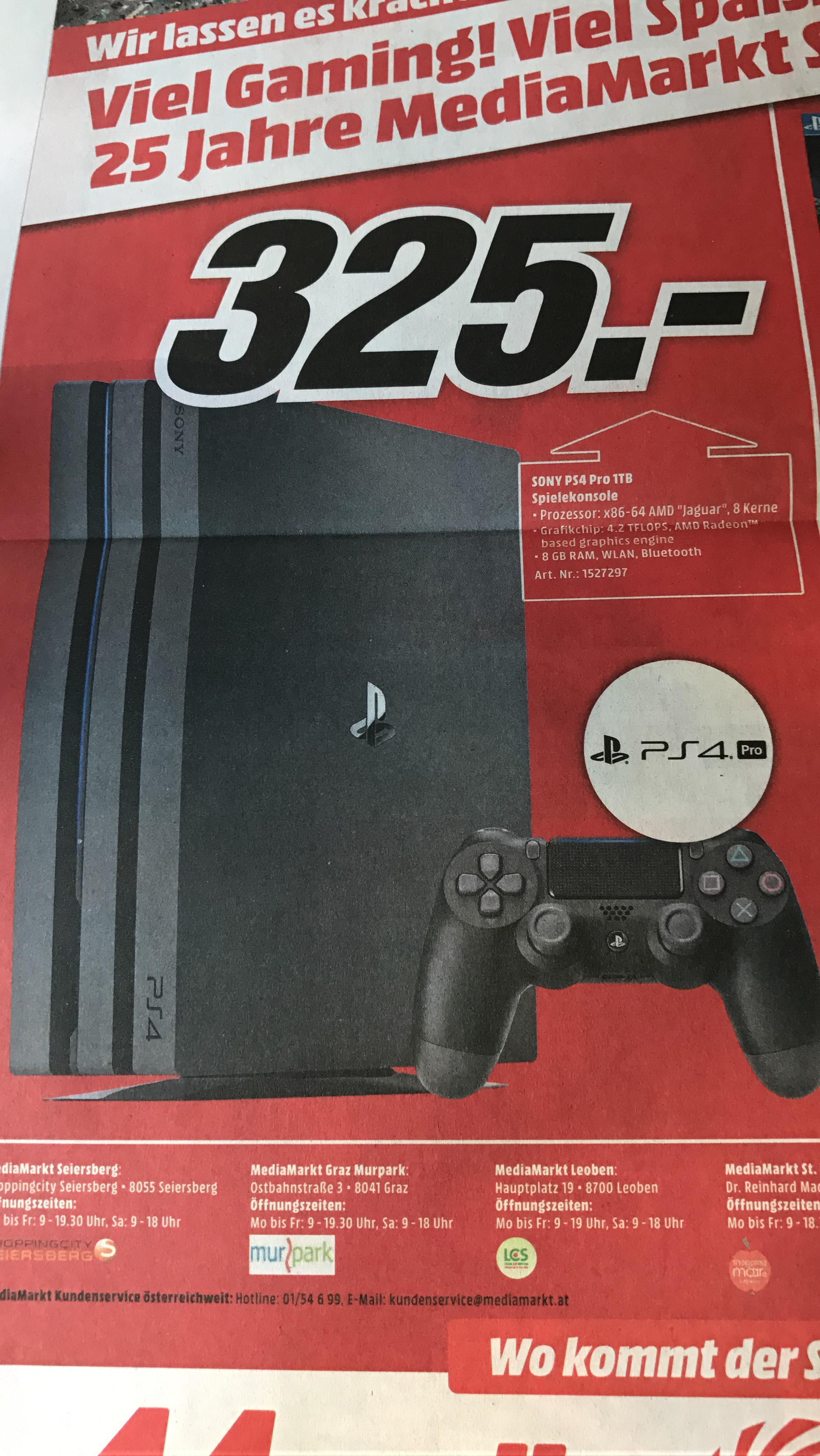 PS4 Pro Media Markt Bestpreis!
