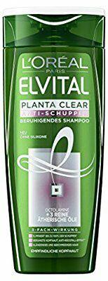 L'Oréal Paris Elvital Planta Clear Anti-Schuppen Beruhigendes Shampoo 6er Pack
