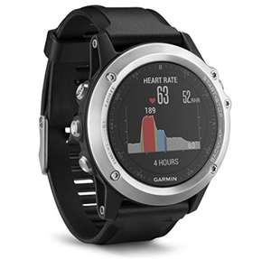 Amazon.de Garmin Fenix 3 HR GPS-Multisportuhr für 275 €