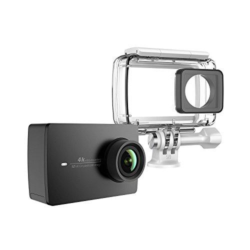 """Amazon.de - 4K Action Kamera Schwarz mit Wasserfestem Gehäuse 4K/30fps 2.19"""" LCD Touchscreen Elektronische Bildstablisierung für 199,99 Euro"""