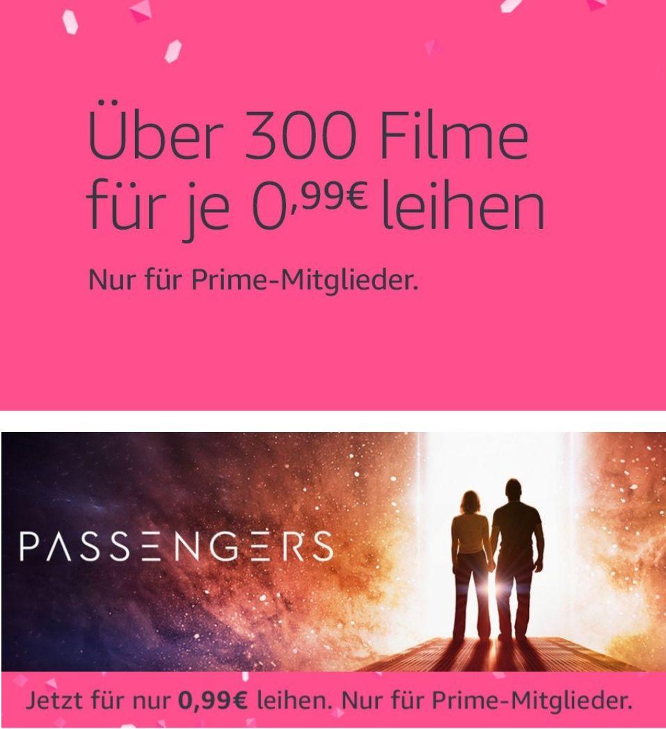 Amazon Video: Nur heute Filme für je 0,99€ leihen
