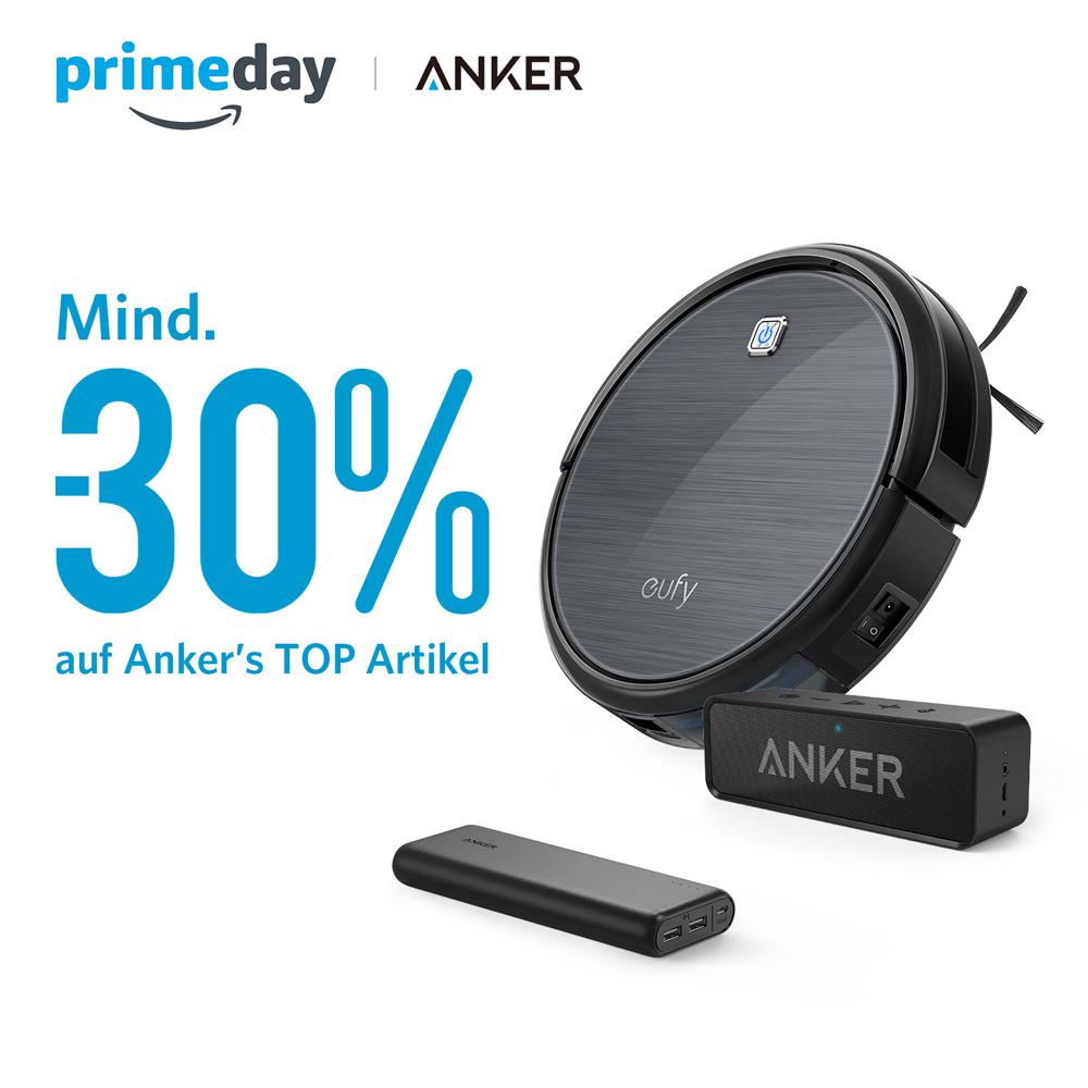 [Amazon.de] ANKER Prime Day Angebote - zB Anker PowerCore 20100 mAh für 24,49€