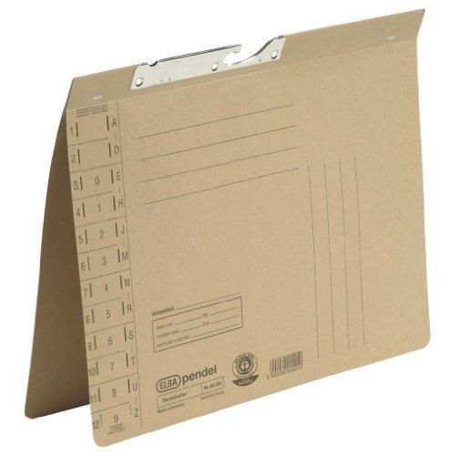 ELBA Pendelhefter 50er Pack Amtsheftung & Schlitzstanzung im Vordeckel aus 230 g/m² Natronkarton [Amazon Prime]