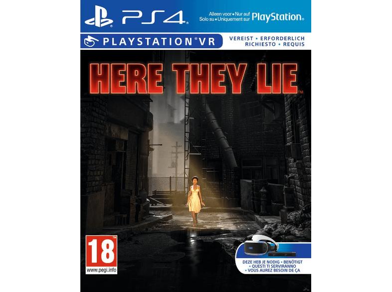 Here They Lie [PlayStation 4] und weitere VR Spiele für nur 7€  VSK frei bei Saturn !