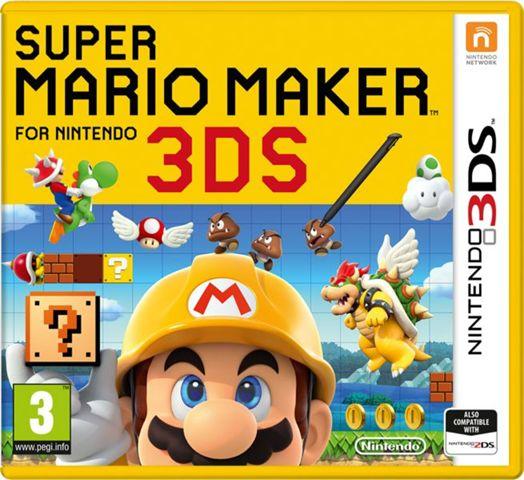 [Sammeldeal Saturn SSV] zb. Super Mario Maker [Nintendo 3DS] für 17,-€ und vieles Mehr