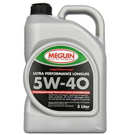 "Meguin ""Megol Ultra Performance"" Motoröl (SAE 5 W-40, 5l) um 18,55 €"