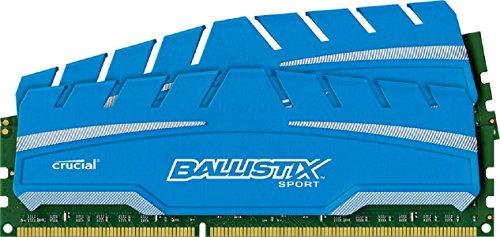 Amazon.de: Crucial Ballistix Sport XT 8GB DDR3 Ram für 34,67€