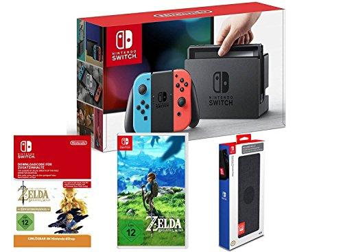 [Amazon.de][Prime Day] Nintendo Switch + Zelda + Season Pass + Tasche für 399€