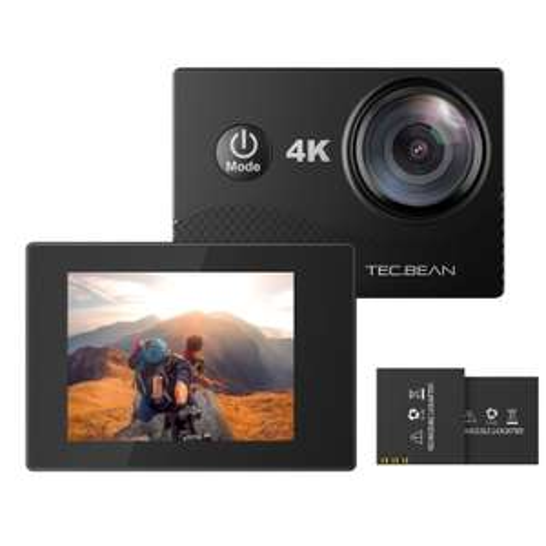 'TEC. BEAN 4 K – 2.0 FHD LCD Display – Waterproof Action Camera 45,99 Euro