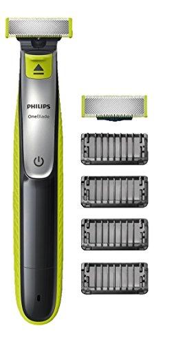 Philips OneBlade (4 Trimmeraufsätze, 1 Ersatzklinge) um 30 € - 41%