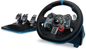 Amazon.de: Logitech G29 Racing Lenkrad Driving Force PS4, PS3 und PC für 173,99€ UPDATE: G29 & G920 für 153,50€ bei Amazon UK