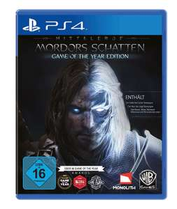 PSN: Mittelerde: Mordors Schatten - Game of the Year Edition für 12,99€