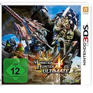 Nintendo 3ds - monster hunter 4
