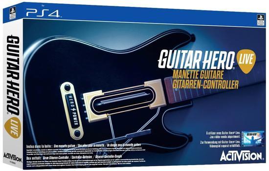 [GameStop] Guitar Hero Live Gitarren Controller ( PS4) für 4,99€ // inkl. Spiel für 14,99€