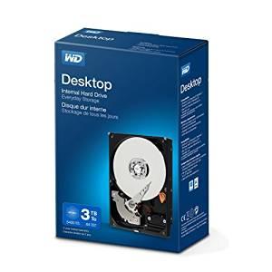 Amazon:  WD Blue Interne Festplatte 2 TB für 62€/ 3 TB für 81€
