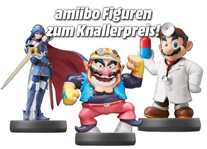 Media Markt: div. amiibo Super Smash Bros. Collection Figuren für nur 5€!