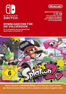 [GamesRocket] Splatoon 2 (Nintendo Switch) eShop Code für 49,95€