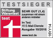 Grün, Sicher, Werbefrei - Posteo Email, Kalender, Adressbuch
